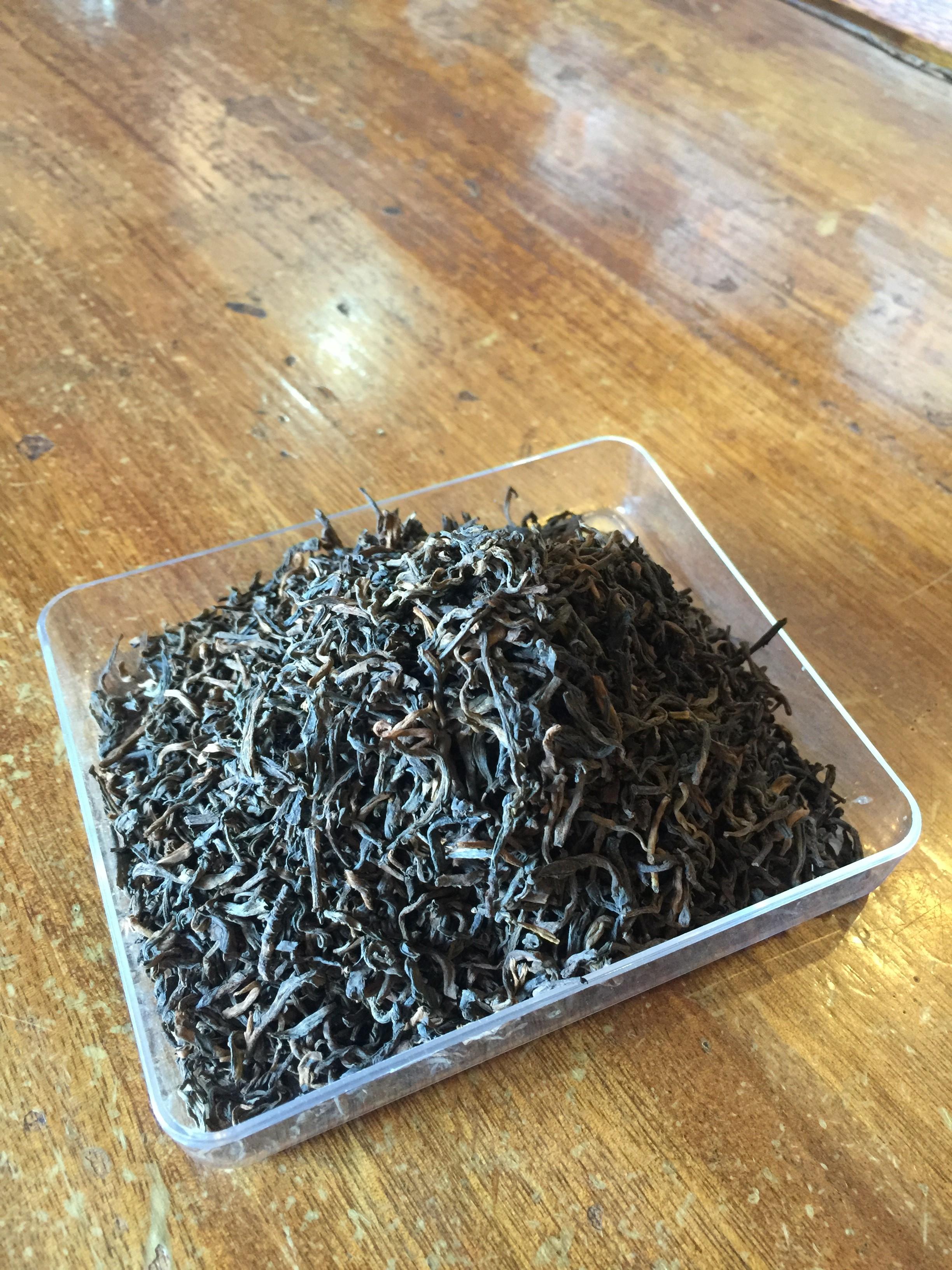 中吉号古树茶 - 宫廷普洱熟散茶